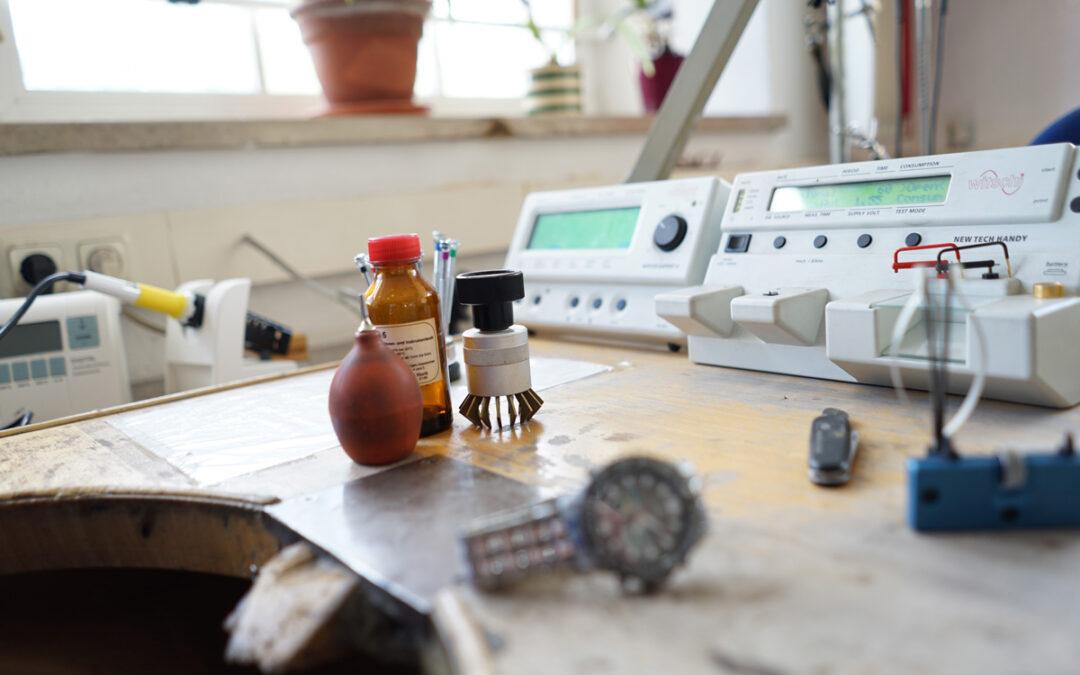 Batteriewechsel für Uhren